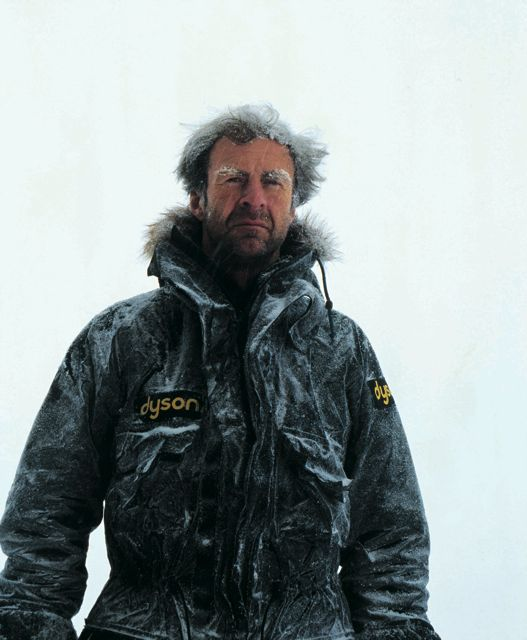 There's no-one more full of life than the world's greatest living explorer, Sir Ranulph Fiennes